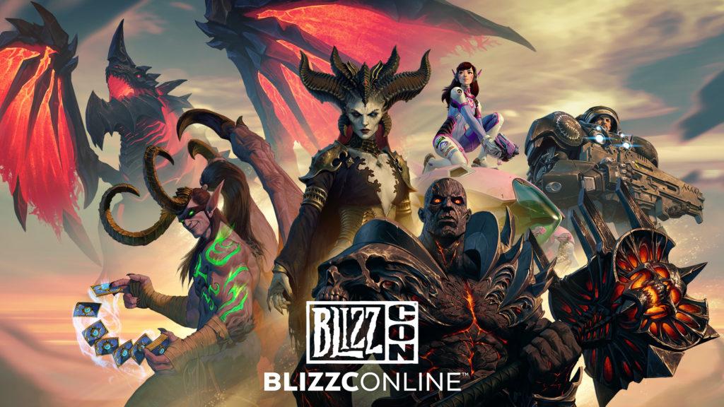 Blizzard a dévoilé le calendrier complet de la BlizzCon 2021