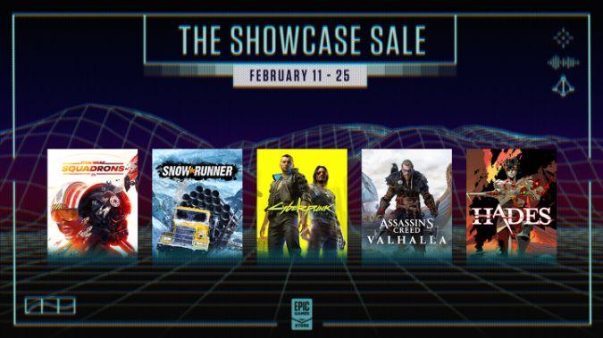 """Epic Games organise une vente """" Spring Showcase """" à partir de jeudi"""