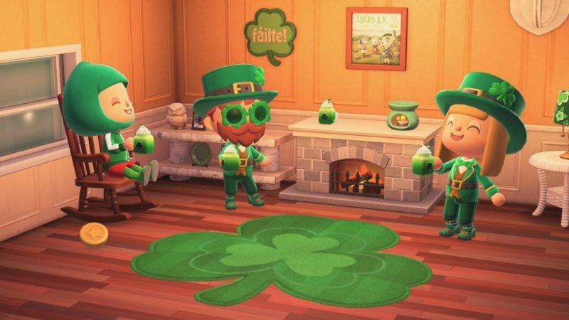 Animal Crossing: La mise à jour de la Saint-Patrick de New Horizons arrive bientôt