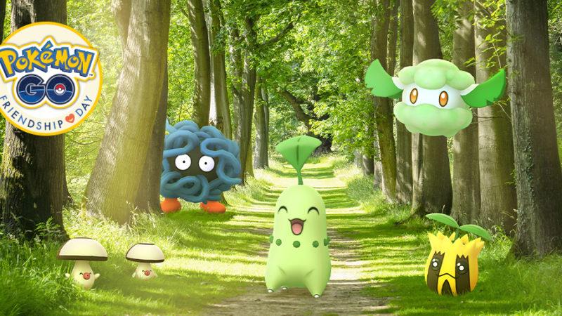 L'événement Pokemon Go Friendship Day aura lieu le 24 avril