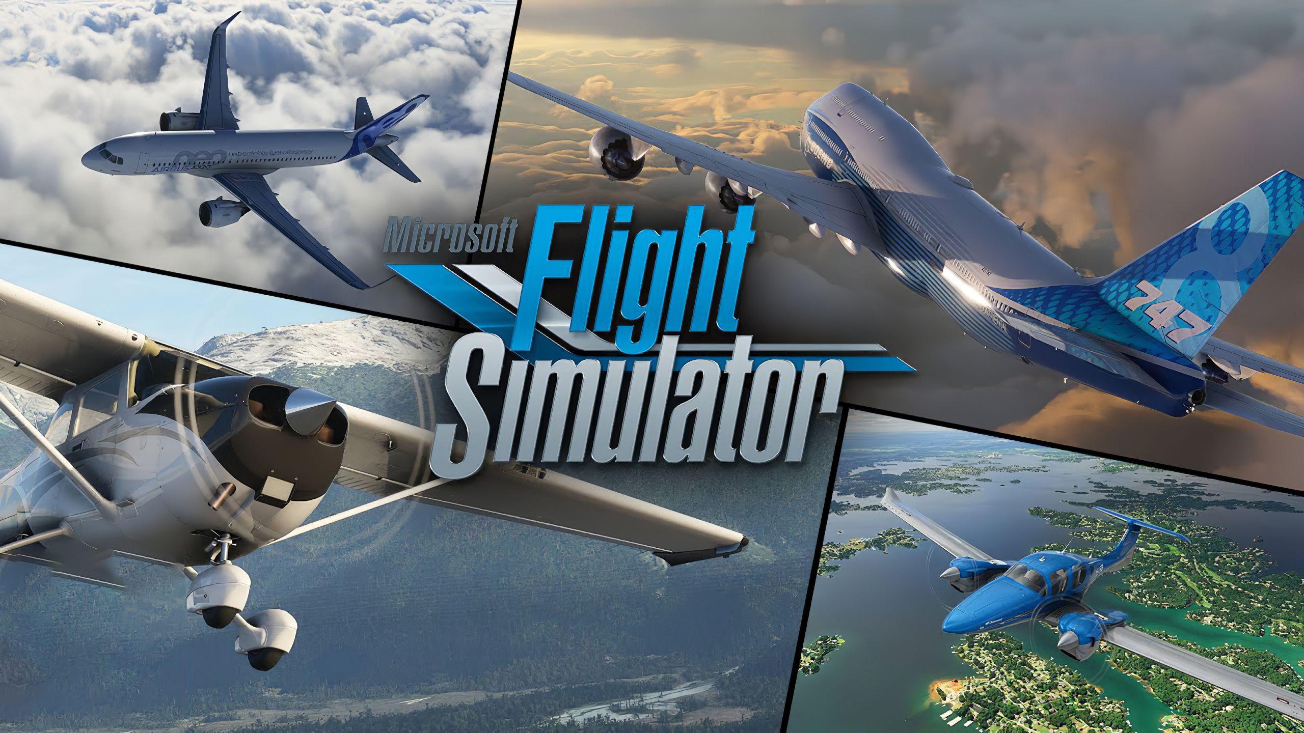 Microsoft Flight Simulator réduit le téléchargement de plus de 170 Go à 83 Go